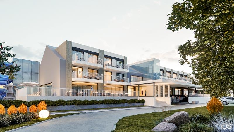 apartamenty inwestycyjne z basenami i hotelem